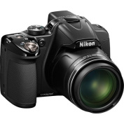 Nikon COOLPIX P530 16.1 MP CMOS Digital Camera with 42x Zoom NIKKOR Lens and Full HD 1080p Video (Black) International Version