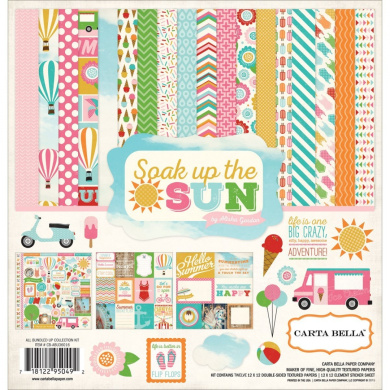 Carta Bella Paper Company Soak Up The Sun Collection Kit