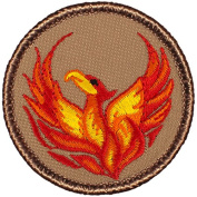 Phoenix Patrol Patch (Red) - 5.1cm Round
