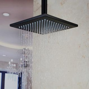 HiendureTM Stainless Steel Bathroom Square Rainfall Shower Head 30cm ,oil Rubbed Bronze Without Shower Arms