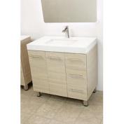 90cm free standing bathroom vanity sink set. Vanities sink Tan