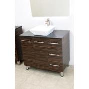 90cm free standing bathroom vanity sink set. Vanities sink Ebony