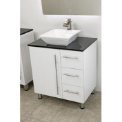 80cm free standing bathroom vanity sink set. Vanities sink White