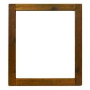 Small Vanity Mirror in Chestnut