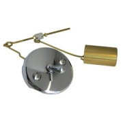 LASCO 03-4757 Gerber Bathtub Waste & Overflow Old Style Trip Plate, With Bucket and Wire Assembly, Chrome Plated Finish