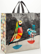 Blue Q Large Reusable Shopping Tote, in Pretty Bird