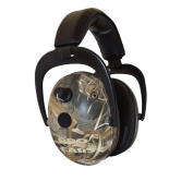 Pro Ears NRR 26 Predator Gold Hearing Protection and Amplfication Max 5 Camo Contoured Ear Muffs