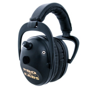 Pro Ears NRR 26 Predator Gold Black Hearing Protection and Amplfication Contoured Ear Muffs