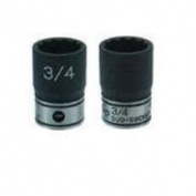 "(Price/EACH)Grey Pneumatic 81121M 3/8"" Dr X 21mm Stndrd Duoskt 12 Pt"