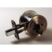 Lewis Hyman Atlas Antique Brass Single Cylinder Deadbolt - Antique Brass