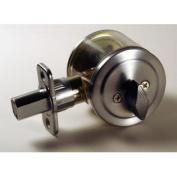 Lewis Hyman Atlas Satin Chrome Single Cylinder Deadbolt - Satin Chrome