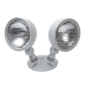 WESTGATE Remote Lamp Heads, 2 Heads, 6V, 7.2W, Wet Location Rated