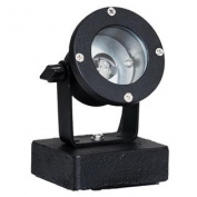 WESTGATE Underwater Light, Aluminium, Mr16 12V 50W Max, Black, Sealed With Yolk To Steel Base