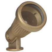 WESTGATE Directional Light, Solid Brass, Mr16 12V 35 Max, Stain Brass (Gold) All Striped