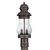 Troy 28955596 Two Light Hyannis Port Bronze Post Light