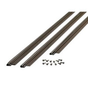 M-D Building Products 01677 90cm by 210cm Flat Profile Door Jamb Weather-strip Kit with Screws