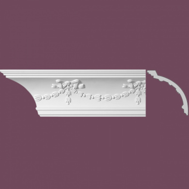 Cornice White Urethane Londonderry Cornice Ornate | Renovator's Supply