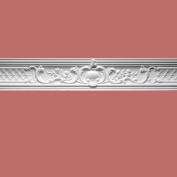 Ornate Cornice White Urethane 18cm H Fern | Renovator's Supply