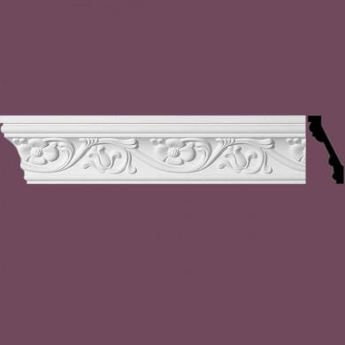 "Ornate Cornice White Urethane3"" H Sainte Anne | Renovator's Supply"