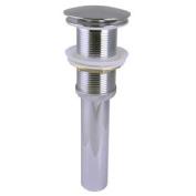 Estella ES14004-CH Umbrella Push Button Pop-Up Sink Drain w/out Overflow Chrome