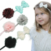 Graceful Shine Baby Girl Headbands Set Newborn Infant Toddler Hair Accessories