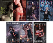 DianaRowland KARA GILLIAN SERIES : 7 Book Bundle : Mark of the Demon to Vengeance of the Demon