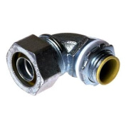 9000cm 90° Insulated Liquidtight Connector, Malleable Iron