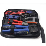 Signstek MC4 PV Solar Cable Multifunctional Stripper Crimper Tool Kit for 2.5-6mm2 Connector Cable Solar Panel