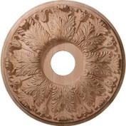 Ekena Millwork CMW20FLRO 50cm OD x 4.4cm P Carved Florentine Ceiling Medallion, Red Oak