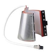 350ml Stainless Steel Mug Attachment for Heat Press Machine