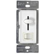WESTGATE Slide Combination Controls, 2.5A Fan, 360W Switch, White