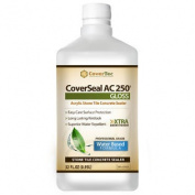 CoverSeal AC250 Stone, Tile and Concrete Sealer, High Gloss, Wet Look, Water Based