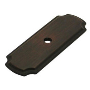 Cosmas B-112ORB Oil Rubbed Bronze Cabinet Hardware Knob Backplate Back Plate
