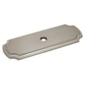 Cosmas B-112SN Satin Nickel Cabinet Hardware Knob Backplate Back Plate