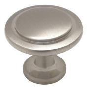 Cosmas 5560SN Satin Nickel Cabinet Hardware Round Knob - 2.5cm - 0.6cm Diameter