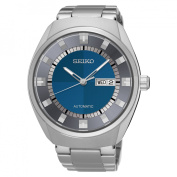 Men's Recraft Automatic Silver Tone with Blue Dial