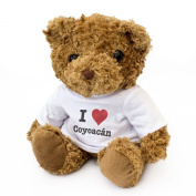 NEW - I LOVE COYOACÃN - Teddy Bear - Cute And Cuddly - Gift Present Birthday Xmas