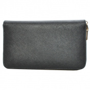 Mechaly Women's 'Katie' Black Vegan Leather Wallet
