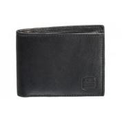 Suvelle Men's Classic Leather Bi-fold Wallet