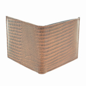 LL Fashion Men's Snake Skin Embossed Leather Bifold Wallet