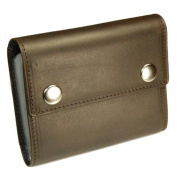 Castello Italian Leather Snap Closure RFID Cardholder