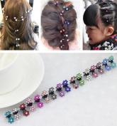 Cuhair(tm) 15pcs Women girl Hair Bangs Mini Hair Claw Clip Hair Pin Flower Accessories