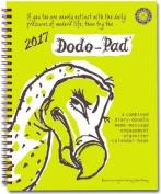 Dodo Pad Desk Diary 2017 - Calendar Year Week to View Diary