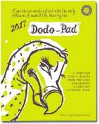 Dodo Pad Loose-Leaf Desk Diary 2017 - Week to View Calendar Year Diary