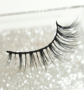 LUXILASH DEMI Amazing Double Layered Wispie 3D Mink Lashes - Reusable 25 Times 100% Cruelty Free Real Siberian Mink Luxury Strip Natural False Eyelashes