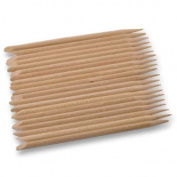 Pack of 20 Wooden Cuticle Pushers Manicure Accessories