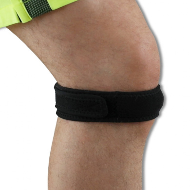 NeoPhysio Magnetic Therapy Patella Tendon Knee Strap, Neoprene Strap Contains 8 Pain Relieving Magnets, Neo310m