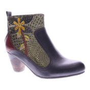 Women's L'Artiste by Spring Step Dramatic Boot Black Multi Leather