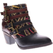 Women's L'Artiste by Spring Step Redding Black Leather