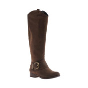 Women's Madeline Big Deal Riding Boot Rich Brown Synthetic